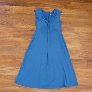 Patagonia teal blue Bandha travel dress - Large